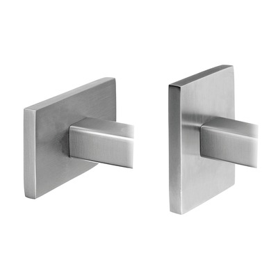 "Adjustable handrail bracket, Square Line, f. wall, 2 pcs. rectangular rectangular M8 indoor wall Handrail bracket, variable at tube Ø5,5 mm 40x10/40x40/60x20/60x30 mm 20x20 mm 4145 2 pcs. 304 stainless steel satined Ø0.22"" 1.57x1.57\""/2.36x0.78\""/2.36x1.18\"" 100 mm 1.57\"" - 3.15\"" 3.62\"" 0.79x0.79\"" 91 mm"