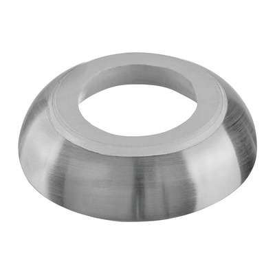 Cover cap for handrail bracket MOD 0110, stainless steel 316 2 pcs. round satin outdoor handrail bracket Cover cap for handrail bracket round Ø10 mm 5 mm Ø18 mm 0110 0509