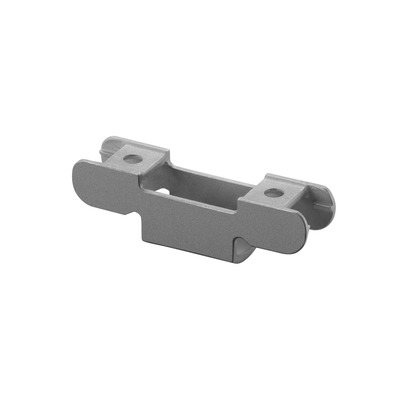 "Cap rail adapter for MOD 0772, U=24x24 mm, 2 pcs. untreated M8 outdoor cap rail Cap rail adapter round Ø42,4 mm Ø6,5 mm 23,5 mm 28,6 mm 90 mm 0772 0782 2 pcs. Ø1.66"" Ø0.26"" 316 stainless steel 0.93"" 1.13"" 3.54"" universal fitting/LED girder section"