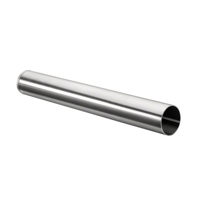 d line, handrail, straight end, for wall, stainless steel 316 1 pc. round satin outdoor in tube Straight End wall round 1,5 mm Ø38 mm Ø38 mm 300 mm 9045