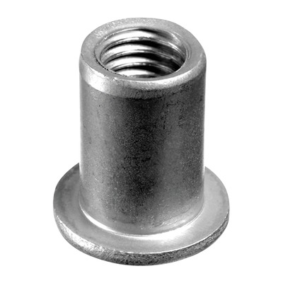 Blind rivet nut with socket head, QS-40, stainless steel 304 50 pcs. M10 indoor Blind rivet nut with socket head 21 mm 0801