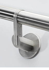 Handrail brackets for wall