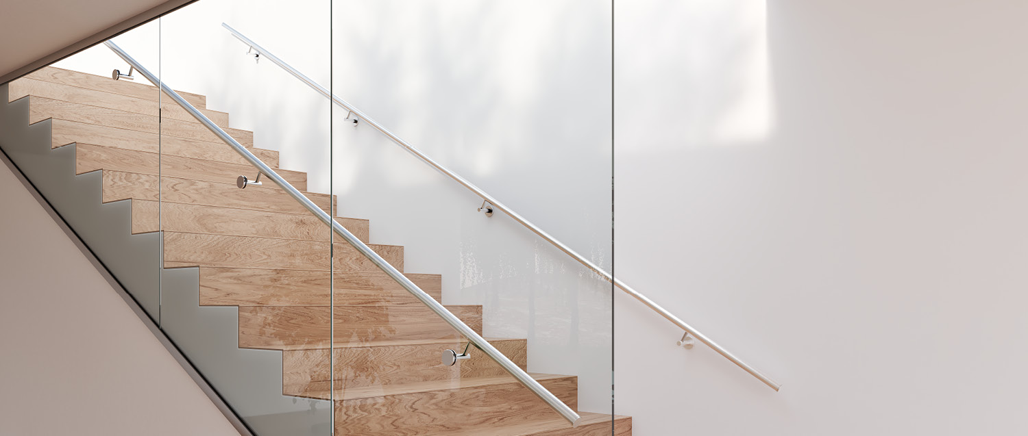 Cost Effective Floor To Ceiling Glass Balustrade Q Railing